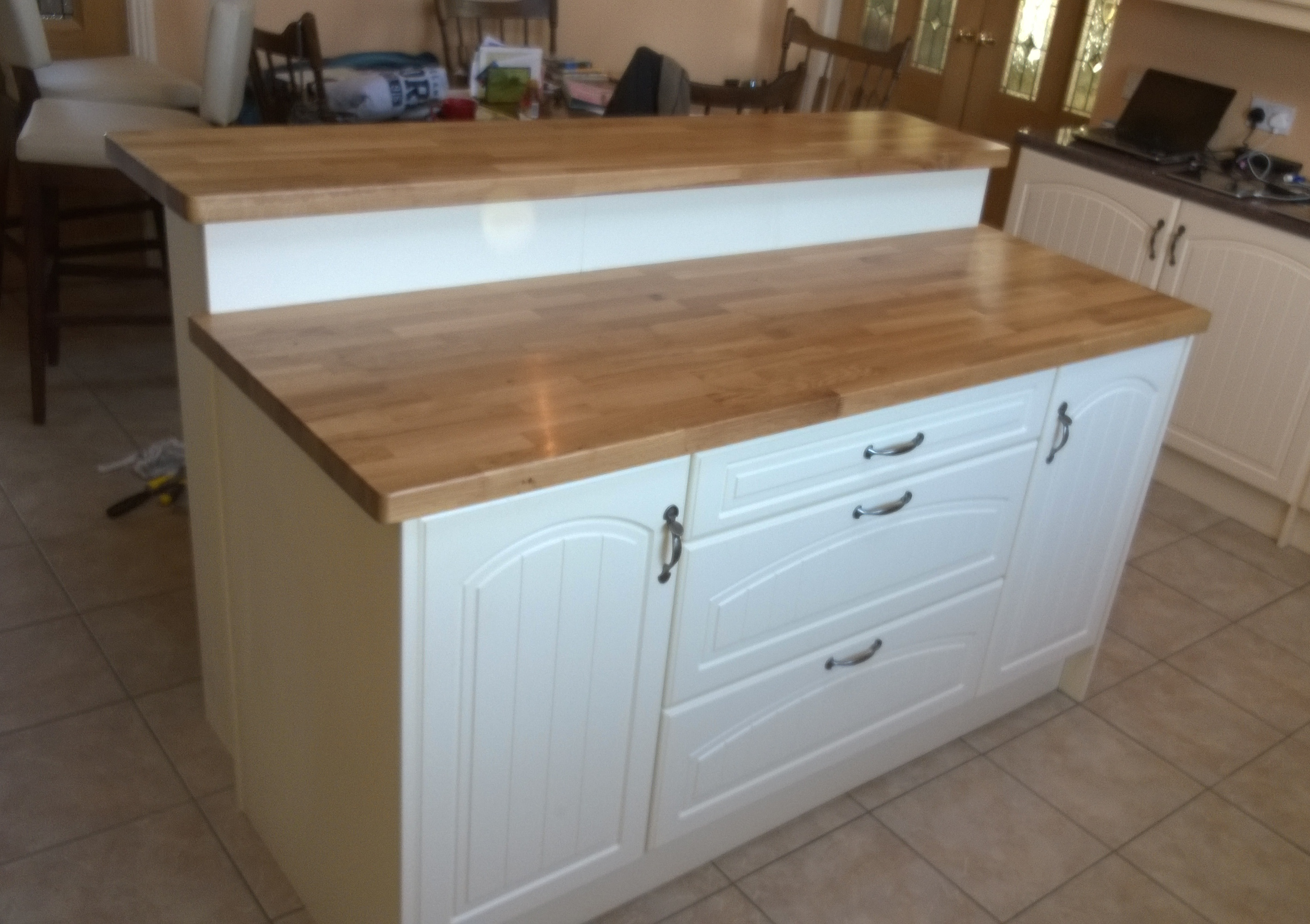 thekitchenwright adding an island to an existing kitchen kitchens k m fitted furniture     adding an island to an existing kitchen   small project adding an      rh   diydesign org